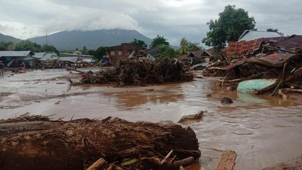 Banjir Bandang Flores Timur NTT (ANTARA FOTO/HUMAS BNPB)