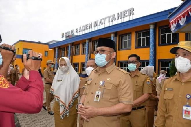 Sekda Tegaskan Pegawai Disiplin Tingkatkan Pelayanan Rumah Sakit Raden Mattaher