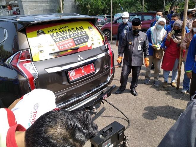 Wawako Maulana Pinta DLH Kampanyekan Uji Emisi Kendaraan Demi Menjaga Kebersihan Udara