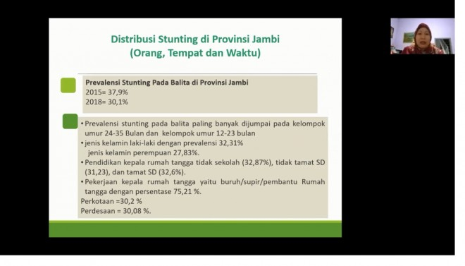 Foto: screenshot acara daring FDJ