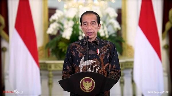 Foto: Presiden Joko Widodo (Jokowi) (YouTube Sekretariat Presiden)