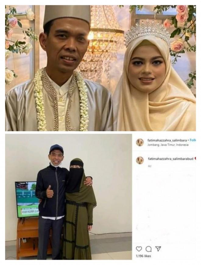 Penampilan Fatimah Berubah Usai Dinikahi Ustaz Abdul Somad (Foto: Instagram). Sumber: Detik.com