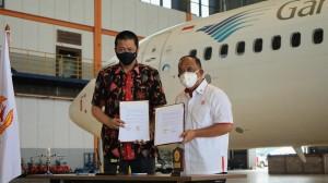 Dukung Pengembangan Prestasi Olahraga Nasional, Garuda Indonesia Jalin Kemitraan dengan Koni Pusat