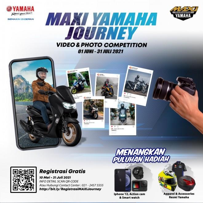 MAXI Yamaha Journey, Berhadiah Iphone 12