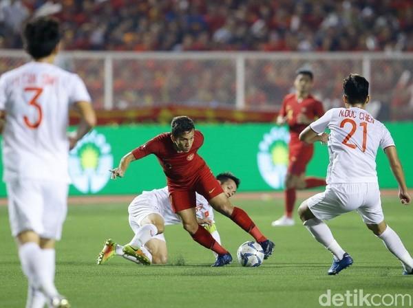Jadwal Indonesia vs Vietnam di Kualifikasi Piala Dunia 2022 Grup DFoto: detikcom/Grandyos Zafna)