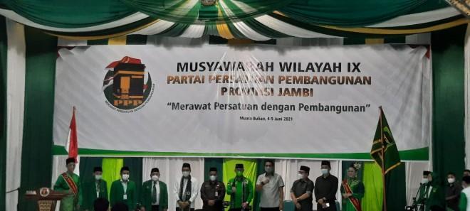 Foto Saat Musyawarah Wilayah PPP di Kabupaten Batang Hari