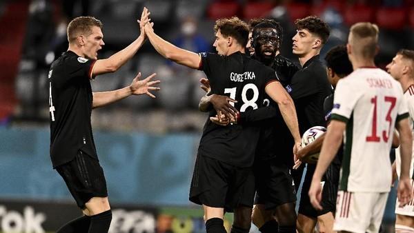 Ini tim-tim yang tampil di 16 besar Euro 2020, Jerman salah satunya (AP/Lukas Barth)
