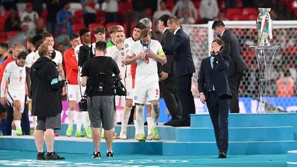 Inggris dikalahkan Italia di final Euro 2020 lewat adu penalti (Foto: Getty Images/Paul Ellis - Pool)