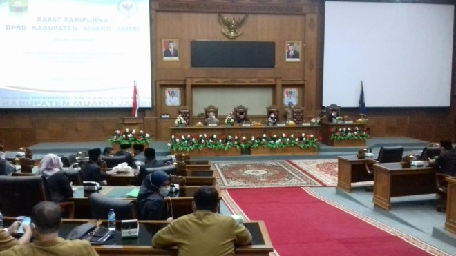 Rapat Paripurna Penyampaian KUA dan PPAS APBD Tahun 2022