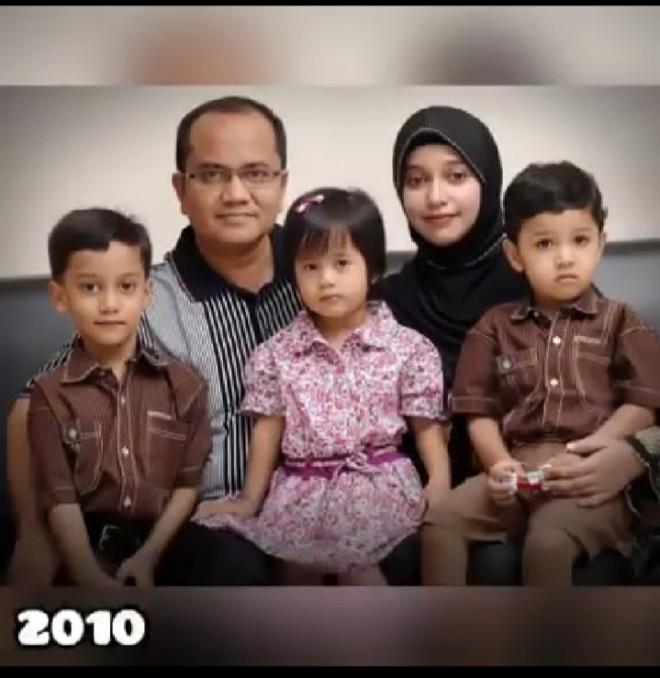 Foto Keluarga Wawako Maulana, Hamdi Sebelah kiri