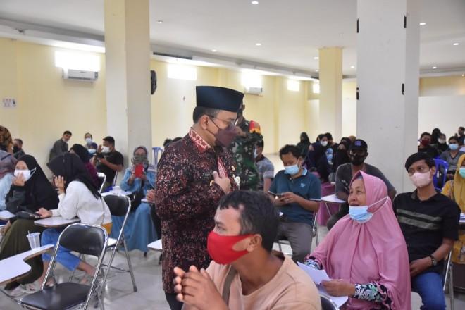 Maulana Sediakan Aula IAIMA Kampusnya untuk Vaksinasi Masyarakat